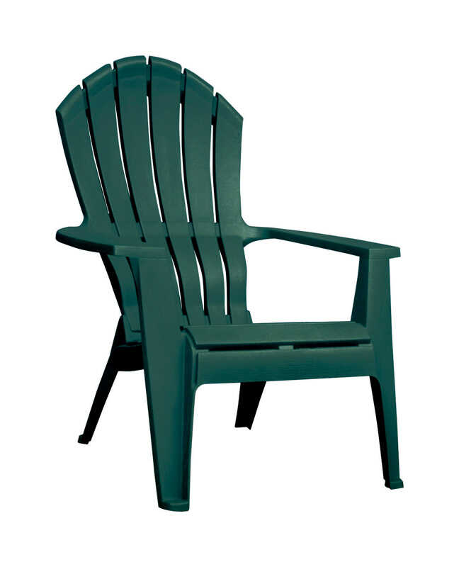 Adams Green Polypropylene High Back Adirondack Chair Ace