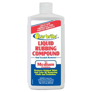Star Brite  Liquid Rubbing Compound  16 oz.