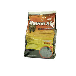 Havoc  Bait  Blocks  For Mice and Rats