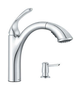 Moen  Kinzel  Pulldown Kitchen Faucet  Chrome  One Handle