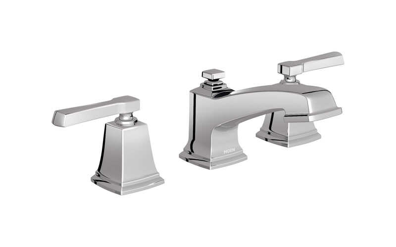 Moen  Boardwalk  Two Handle  Lavatory Faucet  8/16 in. Chrome