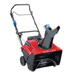 Toro  Power Clear  21 in. 212 cc Single Stage Gas  Snow Blower