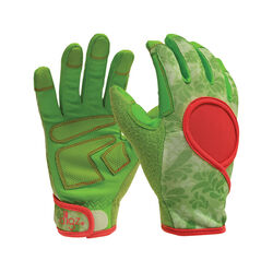 Digz Women's Indoor/Outdoor Synthetic Leather Gardening Gloves Green S 1