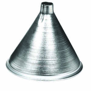 Harold Import  Silver  4 in. H Aluminum  8 oz. Funnel