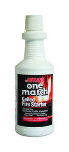 Rutland  One Match  Gelled Alcohol  Fire Starter  32 oz.