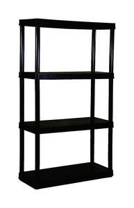 Maxit  54-1/2 in. H x 32 in. W x 14 in. D Resin  Shelving Unit