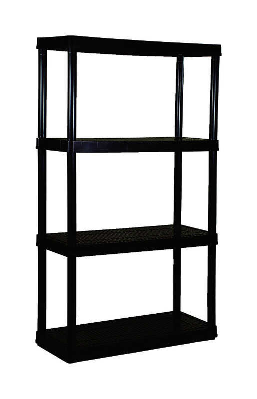 Maxit  14 in. D x 54-1/2 in. H x 32 in. W Shelving Unit  Resin