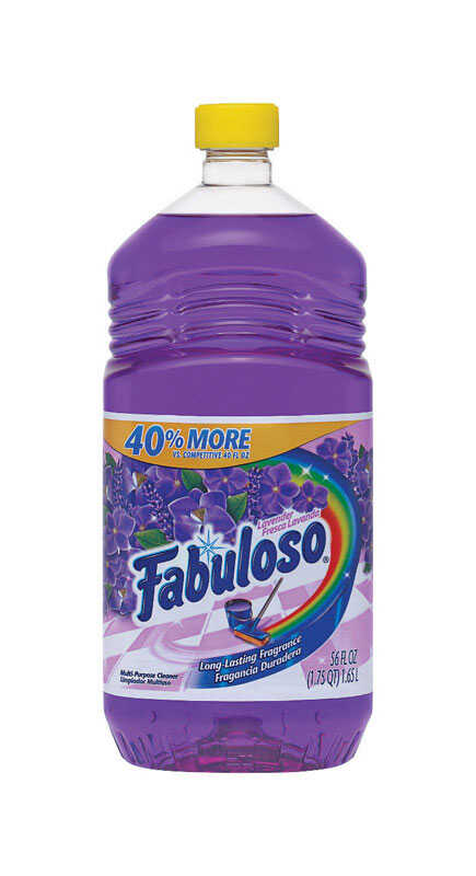 Fabuloso  Lavender Scent All Purpose Cleaner  56 oz. Liquid