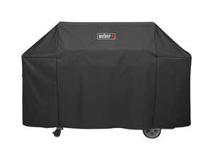 Weber  Genesis II  Black  Grill Cover  73 in. W x 44.5 in. H x 25 in. D For Fits Genesis II and Gene