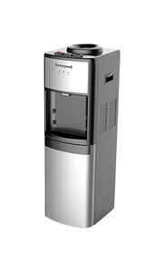 Honeywell  1 Gallon gal. Free-Standing Water Dispenser  Silver  Plastic