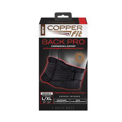 Copper Fit  Back Support  Brace  1 pk