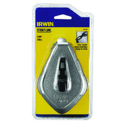 Irwin  Strait-Line  2 oz. Gray  Fast Retrieve  Chalk Line Reel  100 ft.