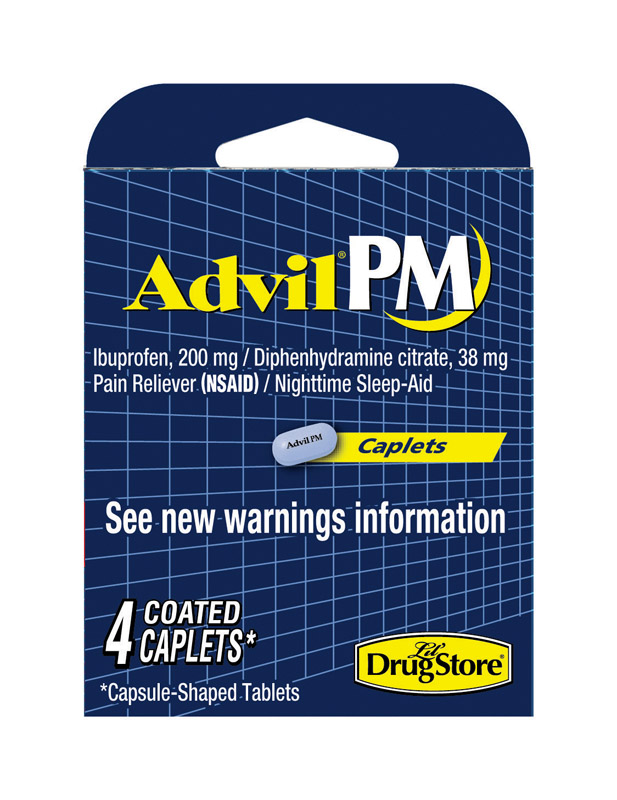 Advil  PM  Nighttime Sleep Aid  4 count