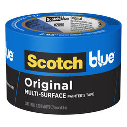 ScotchBlue  2.83 in. W x 60 yd. L Blue  Medium Strength  Original Painter's Tape  1 pk