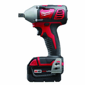 Milwaukee  M18  1/2 in. Cordless  Pin Detent  Impact Wrench with Detent Pin Anvil  Kit 18 volt 3 amp