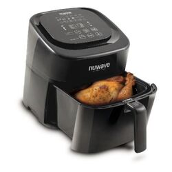NuWave  Brio  Black  6 qt. Air Fryer