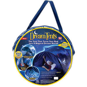 Dream Tents  As Seen on TV  Space Adventure  Bed Tent  Nylon  1 pk