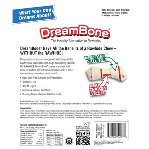 DreamBone  Chicken/Vegetables  Chews  For Dog 11 oz. 4 pk