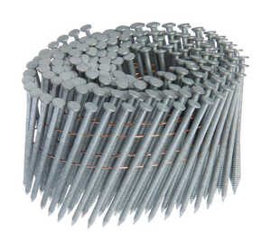Grip-Rite  15 deg. 13 Ga. Ring Shank  Angled Coil  Framing Nails  2-3/8 in. L x 0.09 in. Dia. 3000 c
