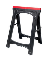 Performance Tool 30 in. H x 22-3/8 in. W x 16-1/2 in. D Adjustable Sawhorse Set 300 lb. capacity 2