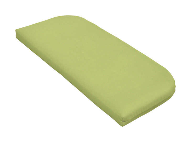 Casual Cushion  Gray/Lime  Polyester  Seating Cushion  2.5 in. H x 43.5 in. W x 19.5 in. L