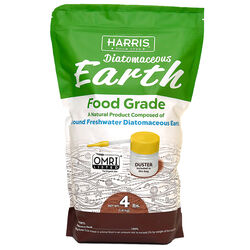 Harris  Food Grade  Organic Powder  Diatomaceous Earth  4 lb.