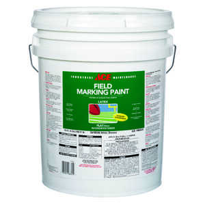 Ace  White  Field Marking Paint  5 gal. Latex  Flat