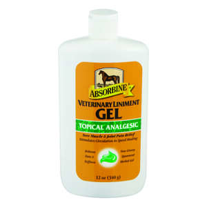 Absorbine  Gel  Liniment Gel  For Horse 12 oz.