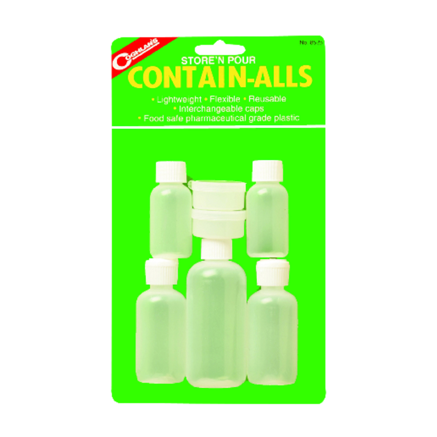 Coghlan's  Store N' Pour Contain-Alls  Water Carrier  11.000 in. H x 6.500 in. W x 1.750 in. L 7 pk