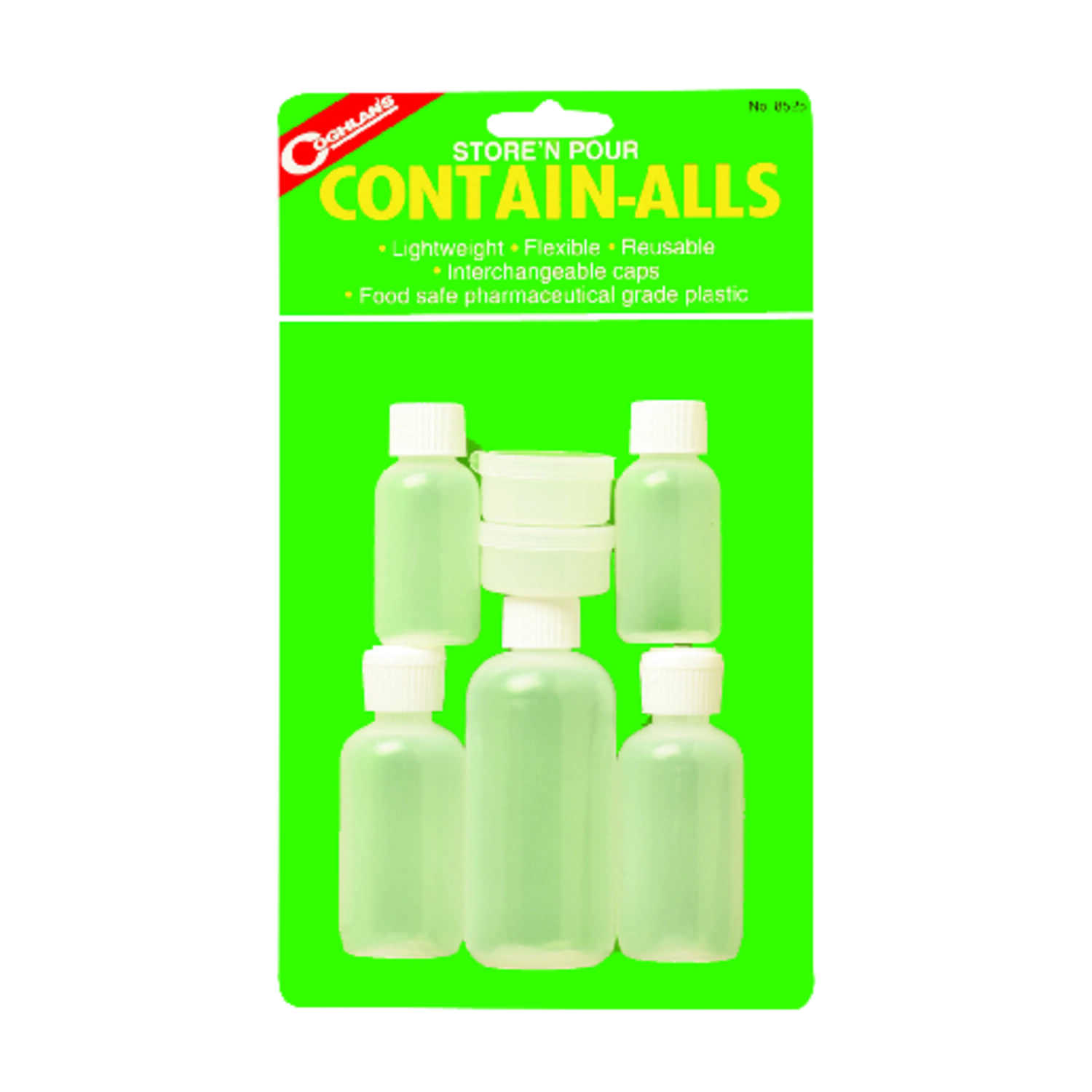 Coghlan's  Store N' Pour Contain-Alls  White  Water Carrier  11.000 in. H x 6.500 in. W x 1.750 in.