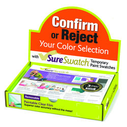 SureSwatch  12 in. W x 9 in. L Plastic  Color Test Sample Film