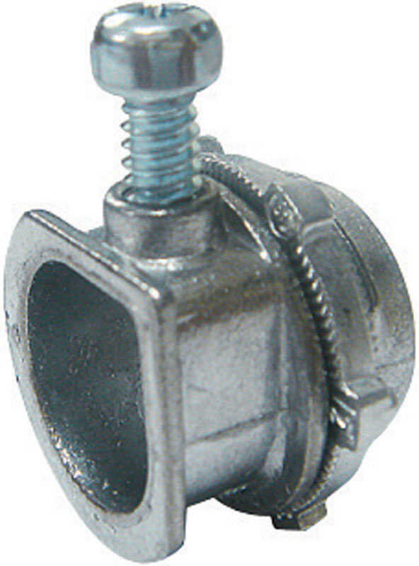 Sigma Electric ProConnex  3/8 in. Dia. Die-Cast Zinc  Flex Connector  For AC and MC 1 pk
