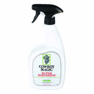 Cowboy Magic  Liquid  Super Bodyshine  For Horse 32 oz.