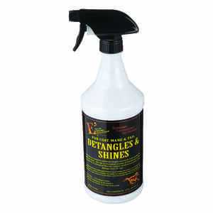E3  Liquid  Detangler & Shine  For Horse 1 qt.