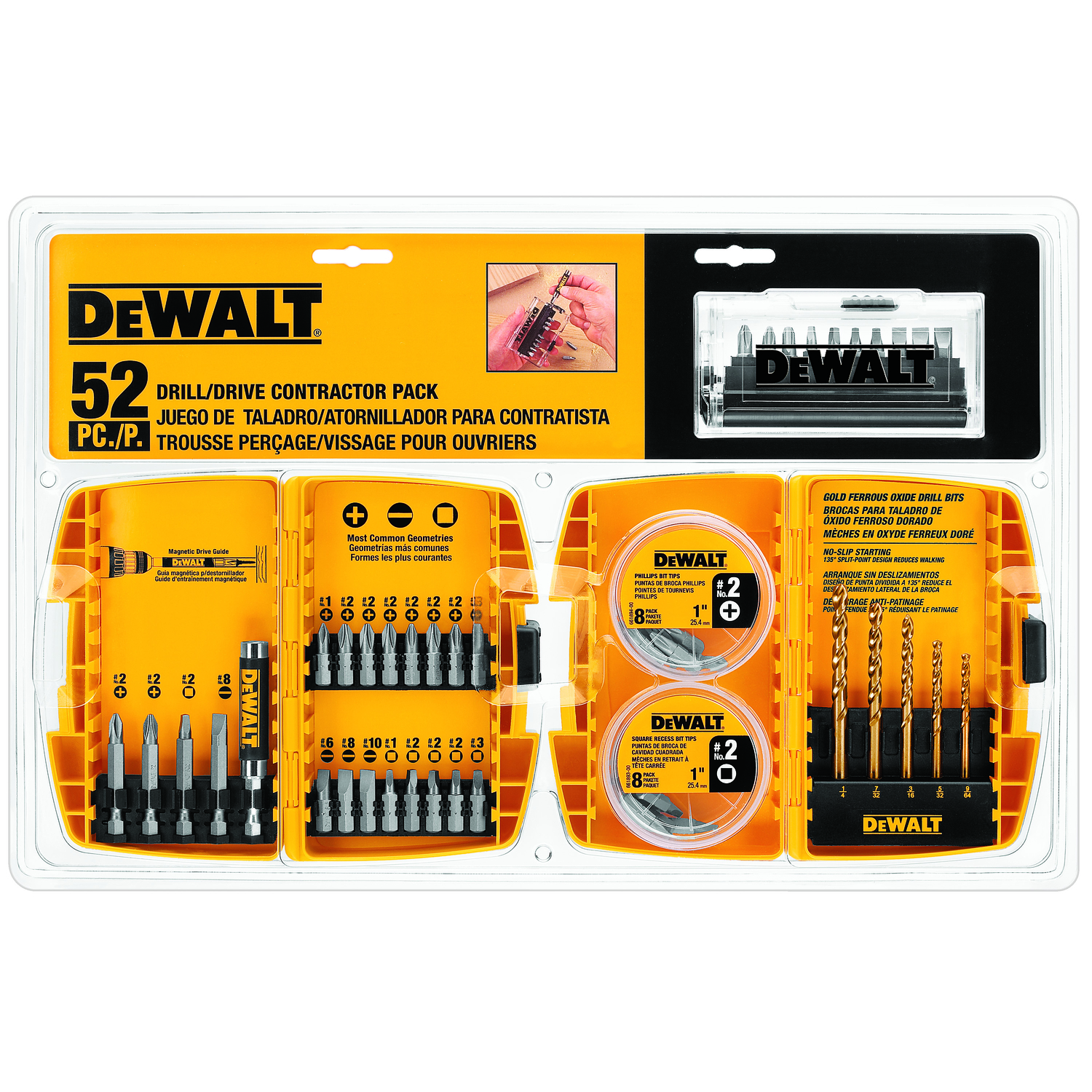 Dewalt Multi Size In 52 Pc Screwdriver Bit Ace Hardware Computer Circuit Boards Recycled Into Mini Magnetic Clipboards For