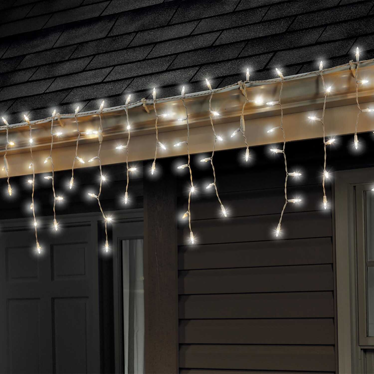 Celebrations Led Mini Traditional Light Set Cool White 6