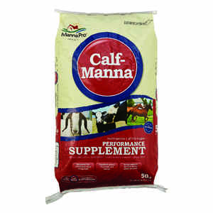 Calf Manna  Solid  Performance Supplement  For All Animals 50 lb.