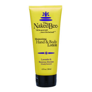 The Naked Bee  Lavender and Beeswax Absolute Scent Lotion  6.7 oz. 1 pk