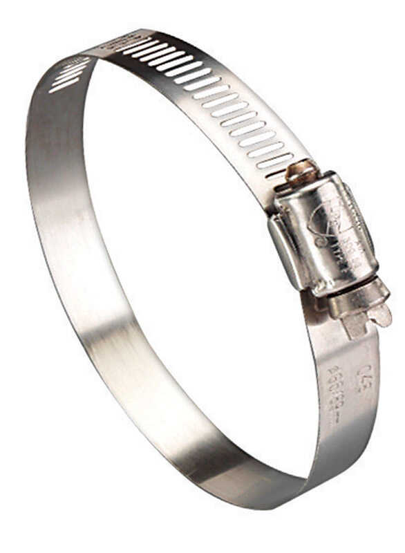 Ideal  4 in. 6 in. Stainless Steel  Hose Clamp