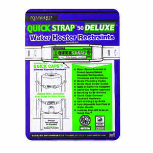 Quick Strap  Deluxe  Water Heater Restraints