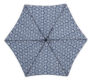 Living Accents  MARKET  9 ft. Tiltable Navy Blue  Patio Umbrella