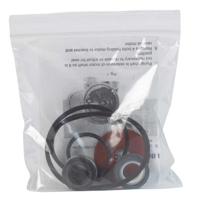 Ace  Various  Mechanical Seal & Gasket Kit  0 in.  x 6.625 in. L