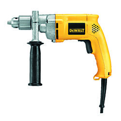DeWalt  1/2 in. Keyed  VSR Corded Drill  Bare Tool  8.5 amps 1000 rpm