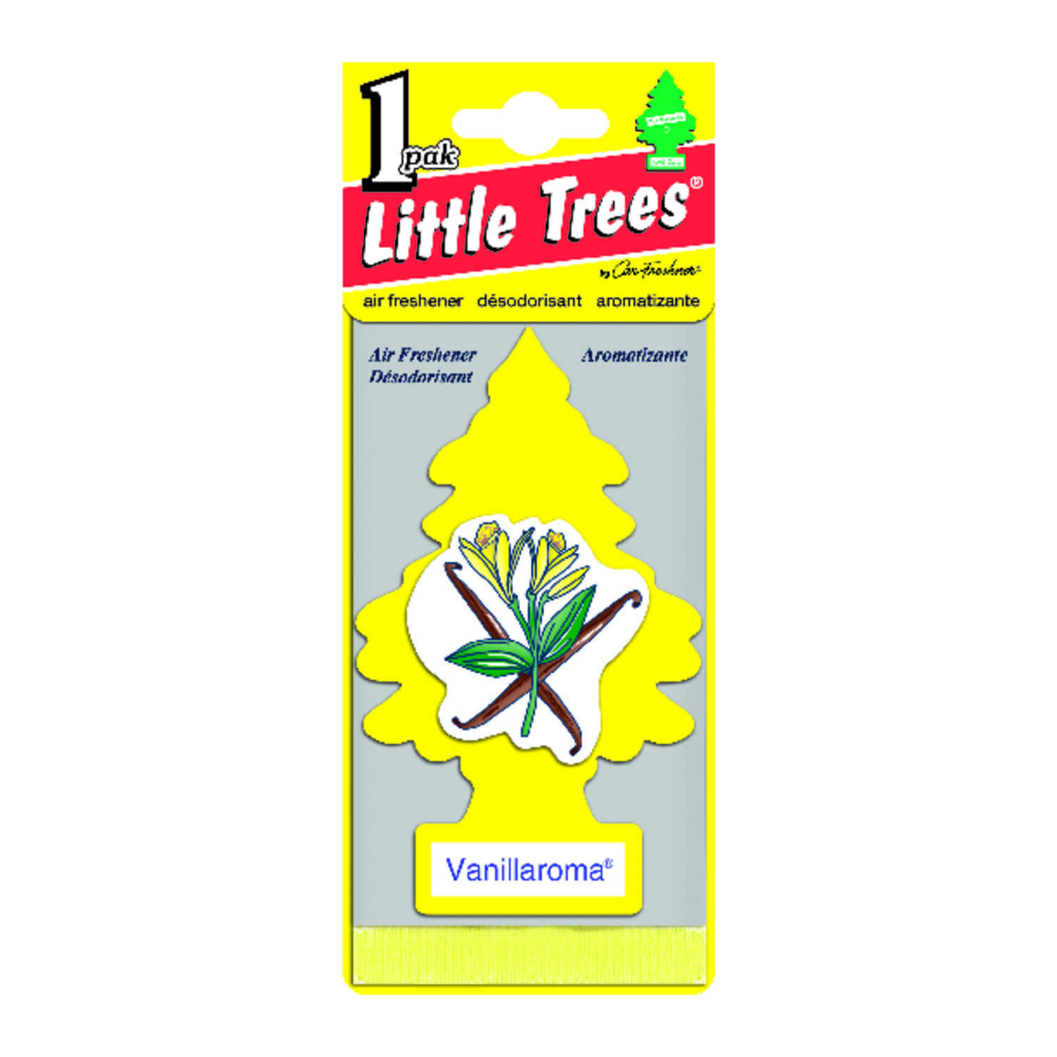 Little Trees  Car Air Freshener  1 pk Vanillaroma