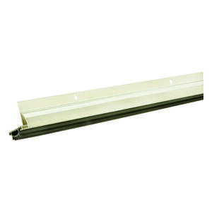 M-D Building Products  Silver  Aluminum/Vinyl  Door Bottom  For Drip Cap 3 ft. L x 1-3/4 in.