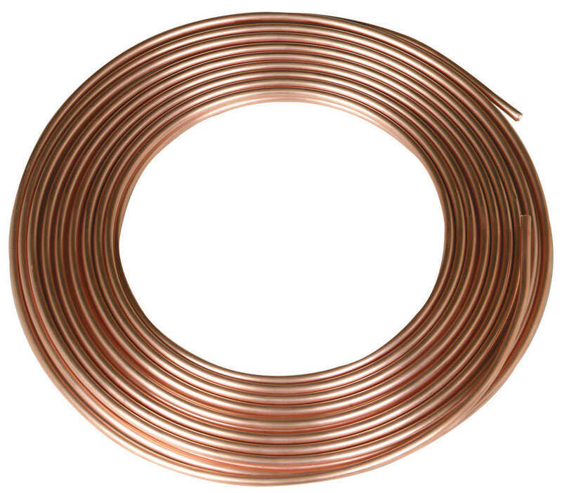Mueller  1/2 in. Dia. x 20 ft. L Type L  Copper Water Tube