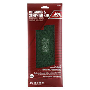 Ace  0 Grade Very Fine  Stripping Pad  1 pk