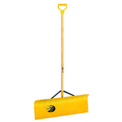 Yeoman 30 in. W x 54 in. L Aluminum Snow Pusher