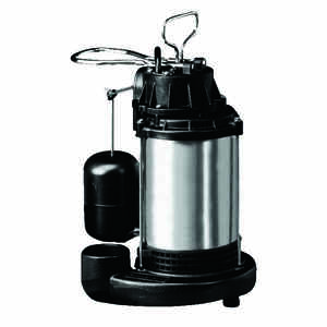 Wayne  1 hp 6100 gph Stainless Steel  Submersible Sump Pump