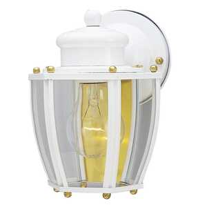 Westinghouse  Semi-Gloss  Switch  Incandescent  Wall Lantern